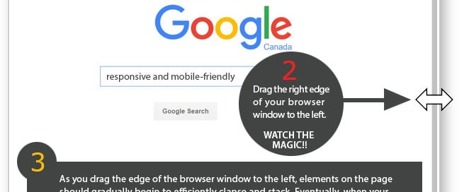 3 steps to know if your site is responsive