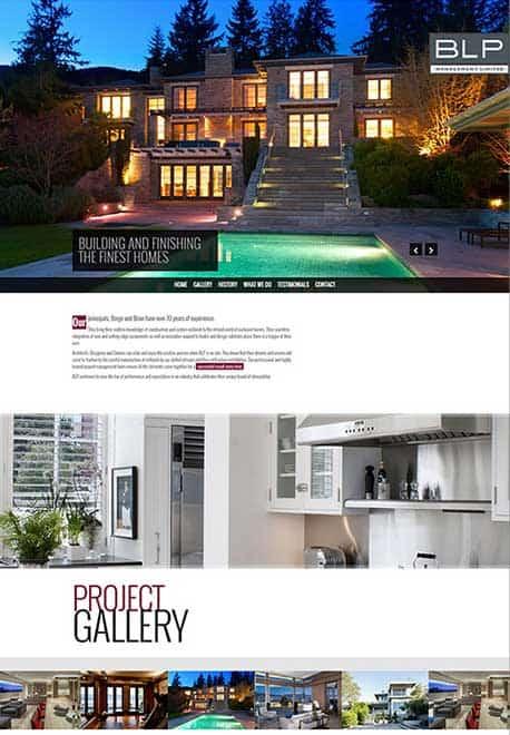 Web Design Portfolio BLP